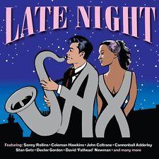 Late Night Sax 2-CD NEW SEALED Jazz Sonny Rollins/John Coltrane/Dexter Gordon+