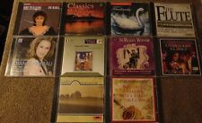 Lot of 10 Assorted CLASSICAL CDs - Tchaikovsky  Puccini  Beethoven +