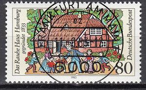 BRD 1983 Mi. Nr. 1186 gestempelt FRANKFURT AM MAIN , mit Gummi TOP! (15350)