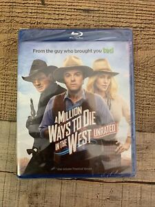 A Million Ways to Die in the West Blu-ray Seth MacFarlane NEW Unrated