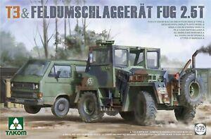 Takom 1/35 2141 T3 & Feldumschlaggerat FUG 2.5T