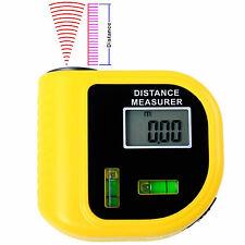 Digital LCD laser Handheld ultrasónico del metro de distancia Medidor utensilio