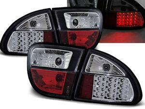 SEAT LEON 1999 2000 2001 2002 2003 2004 TAIL LIGHTS LDSE02 BLACK LED