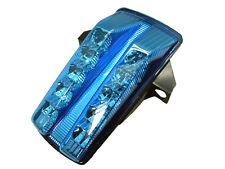 Blue Intergrated LED Turn Signals Tail Light for 2003-2009 Suzuki SV650 SV1000