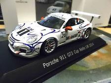 Porsche 911 991 gt3 CUP LE MANS 2014 #26 Aiello mobile 1 Adidas réserve spark 1:43