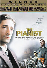 The Pianist (DVD, 2003, Widescreen)