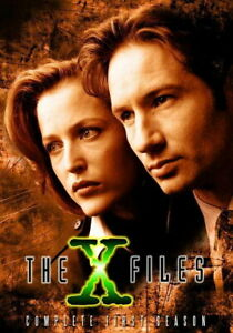 66496 The X Files TV Gillian Anderson David Duchovny Wall Print POSTER UK