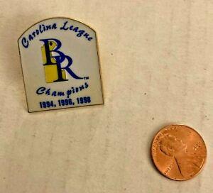 Vintage Wilmington Blue Rocks Carolina League Champions Pin Metal Super Rare