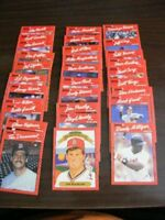 DonRuss Baseball Cards 1990 1991 Lot 65 Ungraded Good Condition