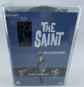 The Saint - Complete Colour series - Roger Moore - New & Sealed 14 DVD Boxset