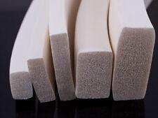Silicona Esponja strip-25mm X 6 Mm De 5mtrs Bobina Blanco