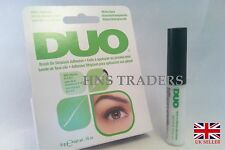 AUTHENTIC DUO STRIPLASH False Eyelash BRUSH ON Glue Adhesive Clear Tone 5g