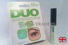 AUTHENTIC DUO STRIPLASH False Eyelash BRUSH ON Glue Adhesive Clear Tone 5g