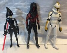 Stars Wars Lot 3 Action Figures 3.5 Inch Seven Sister Inquisitor Darth Maul