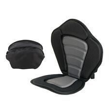 Padded Kayak Seat Cushion w/ Detachable Backpack – Boat Pad & Backrest Padding