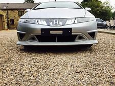 Honda Civic Mugen FN, FN2, FK Front Bumper Splitter/Lip 2006-2011  Type R/S New!