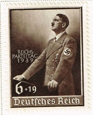 Germany WW2 Hitler's Nazi Party Speach 1939 MLH $19