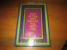 Raymond Carver WHAT WE TALK ABOUT...LOVE Signed & INSCRIBED to his Brother!