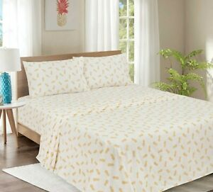 Mainstay Pineapple Printed sheet Set T/TxL