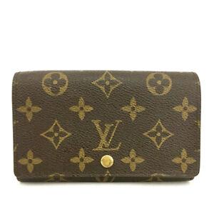 Louis Vuitton Monogram Porte Monnaie Billets Tresor Bifold Wallet /90913