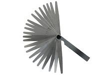 Fühlerlehre 0,02 - 0,70 mm, 24 Blatt Abstandslehre