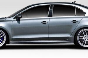 11-14 Volkswagen Jetta Vortex Look Duraflex Side Skirts Body Kit!!! 113724