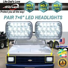 Upgrade LED Headlight Square Bulb Hi/Low Sealed Beam for Chevy S10 Sonoma Truck