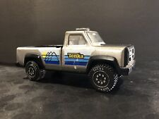Vintage Tonka Pickup Truck Silver Grey Steel and Plastic Toy