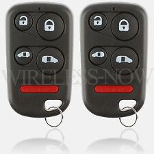 2 Car Key Fob Keyless Entry Remote For 1999 2000 Honda Odyssey