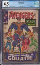 Avengers #28   -CGC 5.0  O/W - 1 app collector , goliath, beetle app