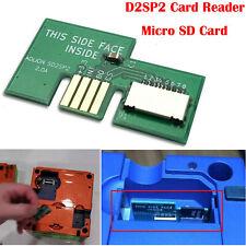 SD2SP2 Lector Tarjetas Micro SD Card TF Card Adapter Para NGC GameCube Port 2-ES