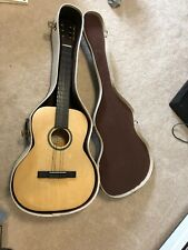 Vintage Silvertone Classic Guitar Classical With Chipboard Case