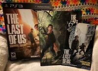 The Last of Us - Survival Edition.  Box, Comic And Hardback Book - NO GAME