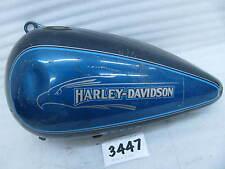 Harley-Davidson Left Flatside Gas Tank 1984 to 1999 Evolution ? 5 gallon #3447