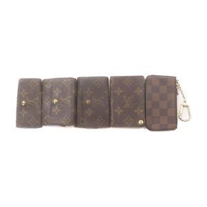 Louis Vuitton LV Coin Purse 5 pieces set Browns Monogram 2208833