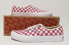 Vans Authentic Pro Checkerboard Fuchsia Men's Size 11