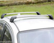 Aero Roof Rack Cross Bar for Mazda 3 2009-14 BL Alloy Lockable Flush