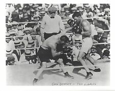 JACK DEMPSEY vs TOM GIBBONS 8X10 PHOTO BOXING PICTURE