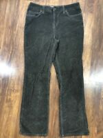 Sonoma Sz 8 Short Womens Brown Corduroy Straight Leg Pants 8x30 Casual Cotton