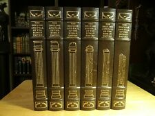 EASTON PRESS THE DECLINE AND FALL OF THE ROMAN EMPIRE BY E. GIBBON 6 VOL SET