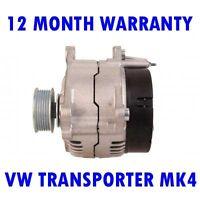 Fits VW VOLKSWAGEN Transporter 2.4 D 70 Alternator 1996-1998 25526UK