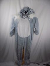Unisex Pajamas Halloween Costume Koala Bear Gray Kids 4T 5T