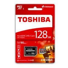 Toshiba 128G Exceria Micro SD SDHC SDXC 128GB 90MB/s UHS U3 Class 10 4K Adapter