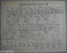 METZ Typ 202 W Schaltplan Ausgabe 2, Stand 11/51