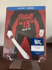 Friday The 13th Steelbook (Blu-ray/Digital, 1980) Factory Sealed