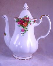 "Royal Albert  ""Old Country Roses"" Coffee Pot  1.3 L capacity"