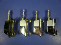 Ludwig Accent Tom Drum Parts Mounting Brackets & Tension Rod Set of 4