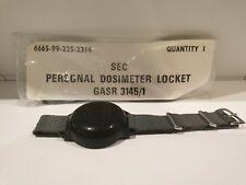 x2 British Army Watch Personal Radiation Dosimeter Locket Geiger Counter NBC UK
