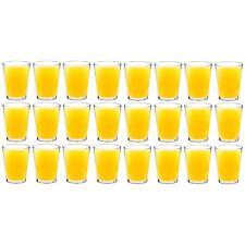 Plastic Tumblers / Hi Balls Outdoor Strong Dining Drinking Cups Glasses x24
