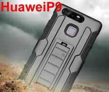 Case Cover For Huawei P9 TPU Case Shockproof Kickstand Skin Armor